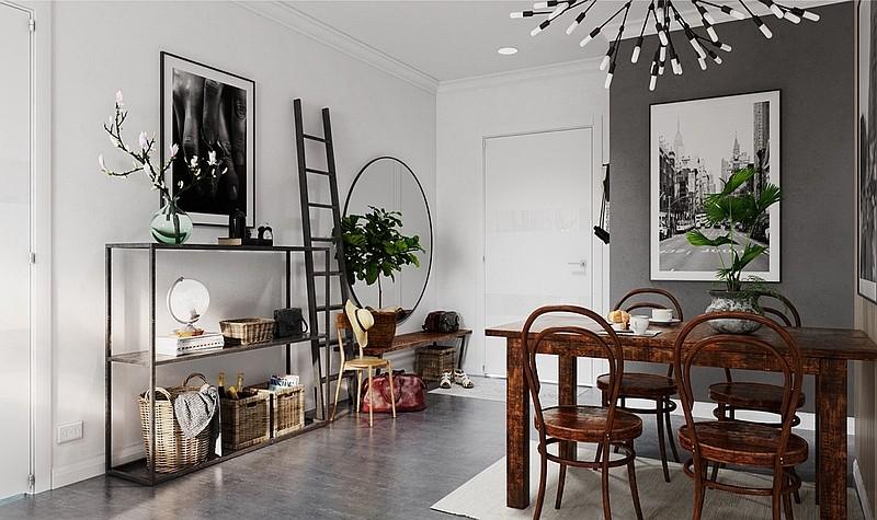 Меблі із натуральної деревини обов'язкові для скандинавського дизайну