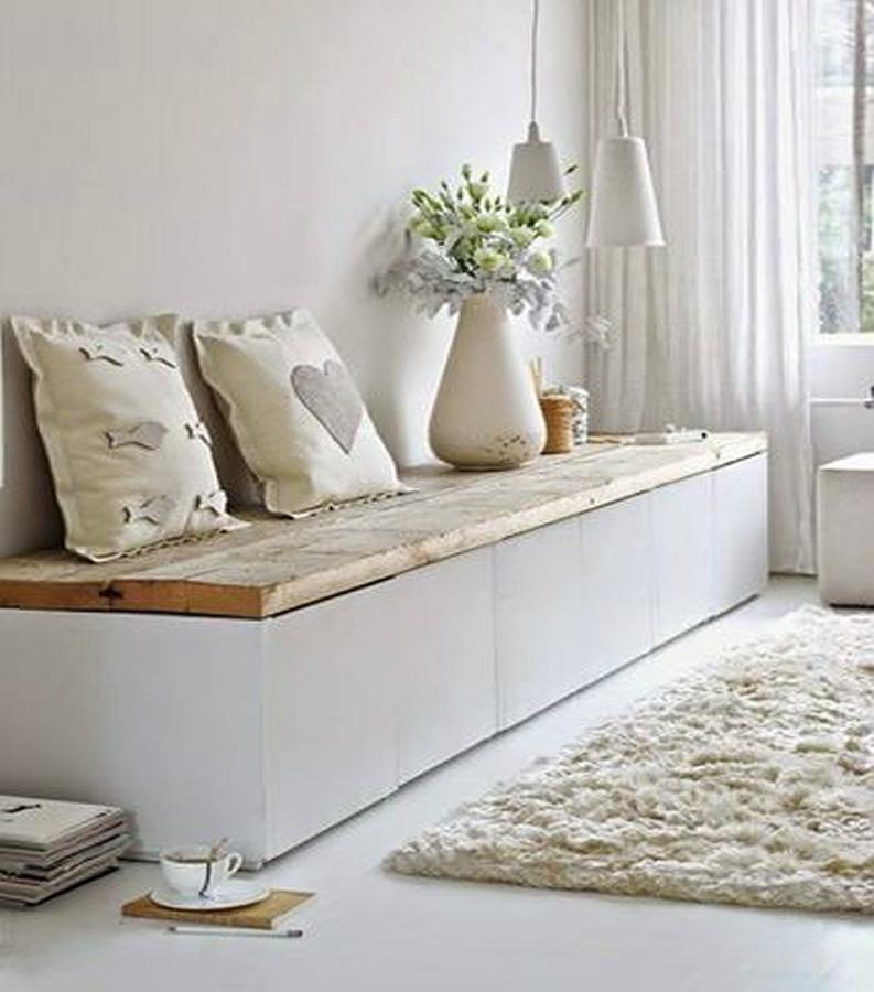 Затишний текстиль та килим в інтер'єрі в скандинавському стилі