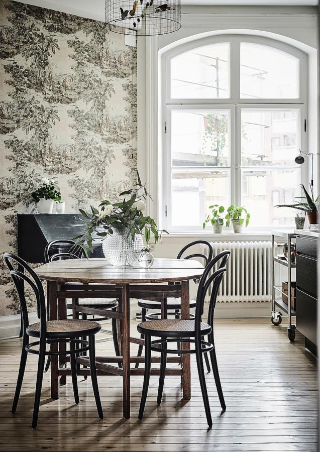 Вікна без штор у скандинавському дизайні