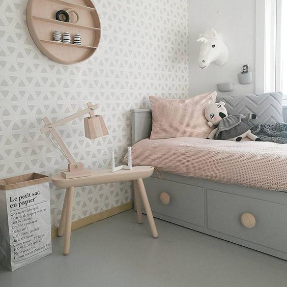Оформлення дитячої кімнати у пастельних відтінках