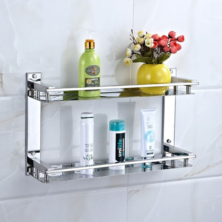 Нержавіюча сталь - ідеальний матеріал для полиць у ванній