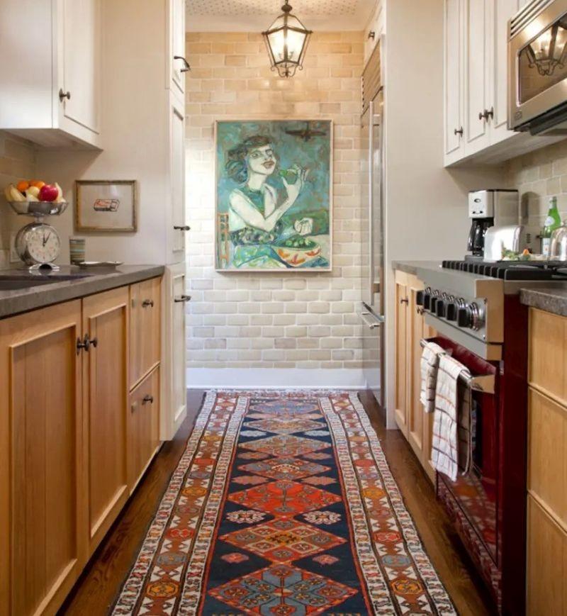 Декор у кухні з паралельним плануванням