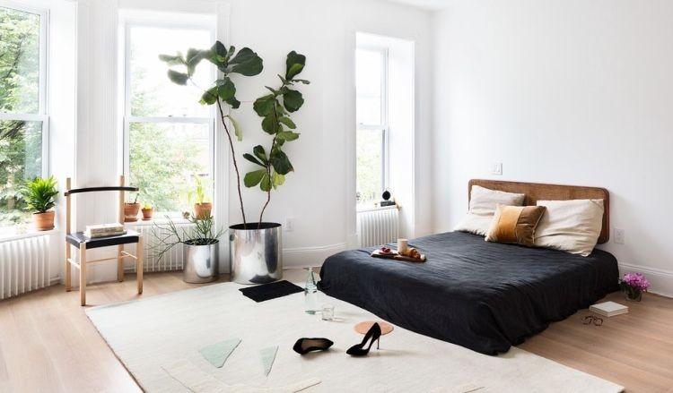 Світле дерево в інтер'єрі спальні - модна тенденція 2019