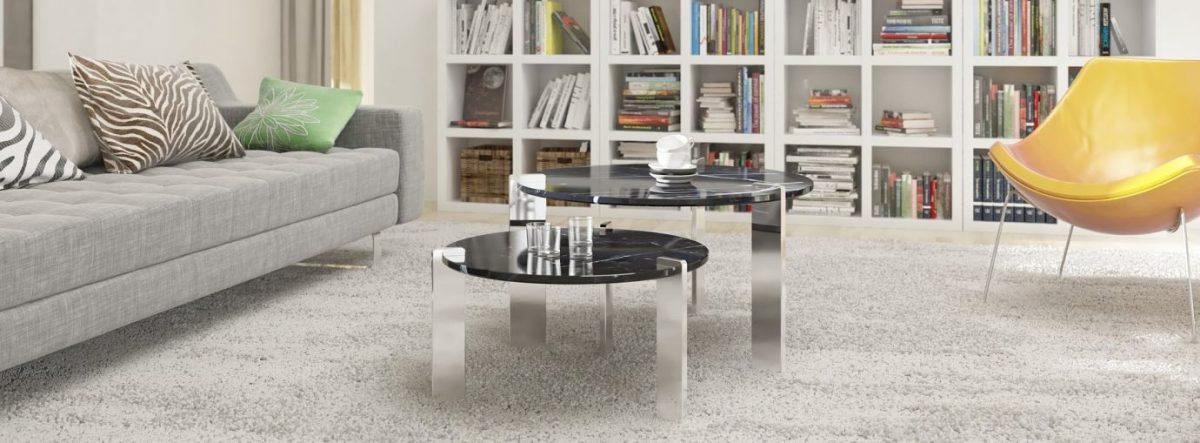 Журнальний (кавовий) столик в інтер'єрі вітальні