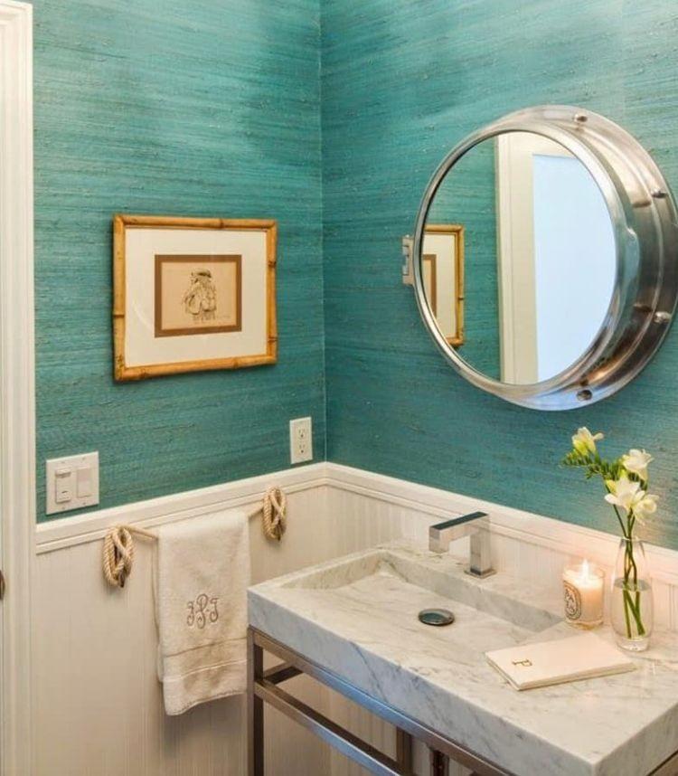 Морська тематика в інтер'єрі ванної кімнати