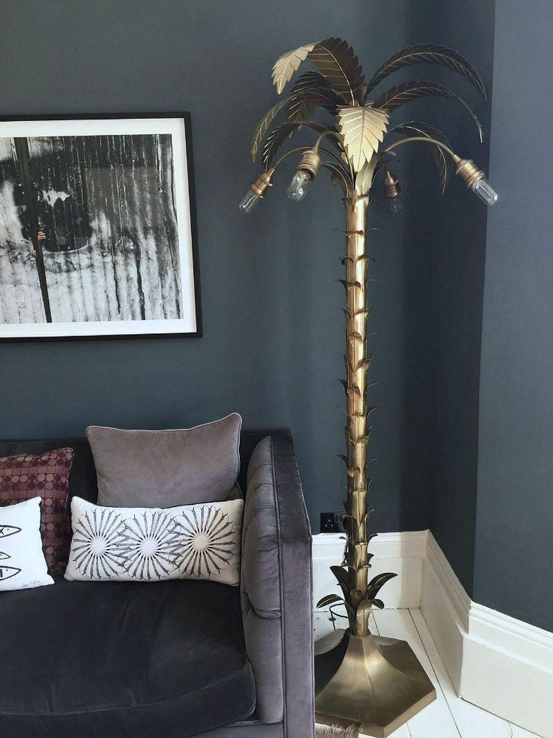 Дизайнерський торшер у вигляді пальми