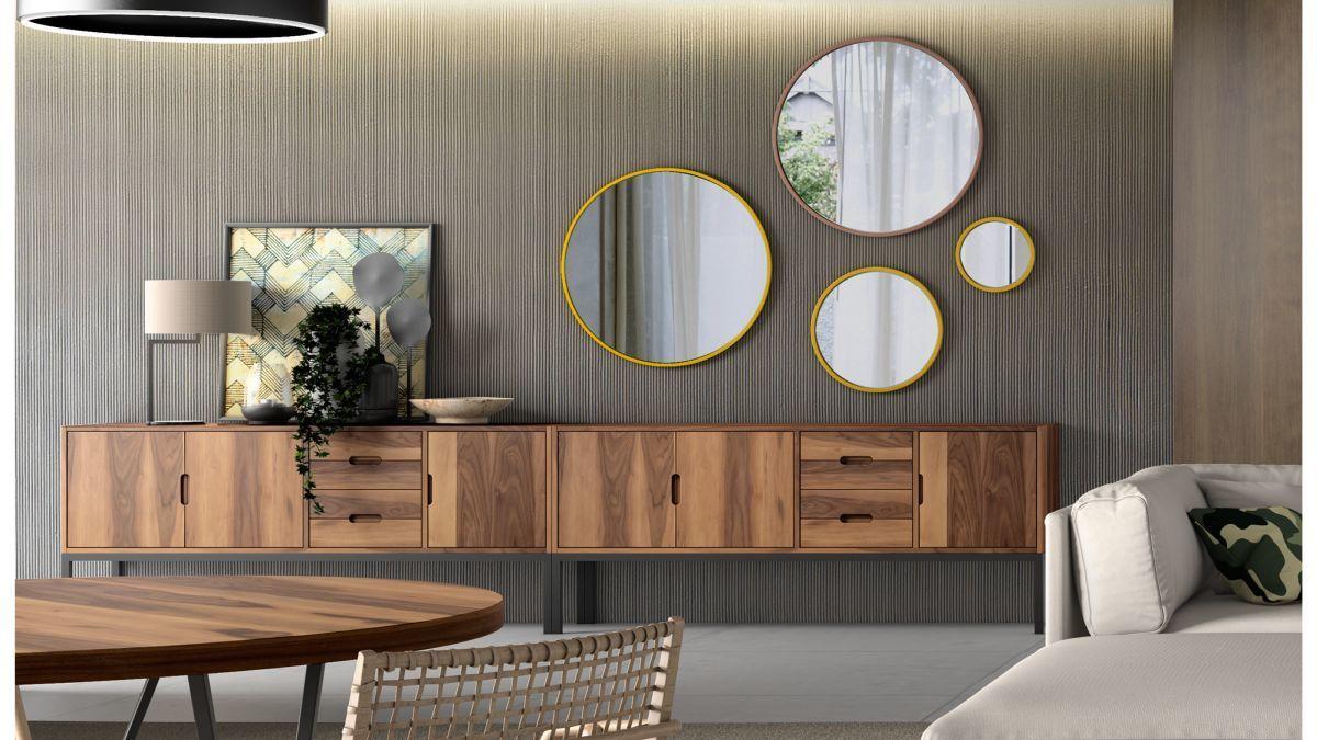 Фотоколекція: кругле дзеркало для декору оселі