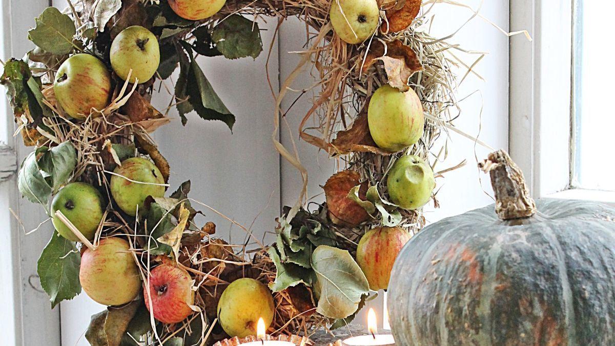 Осінні віночки – сезонна прикраса для оселі
