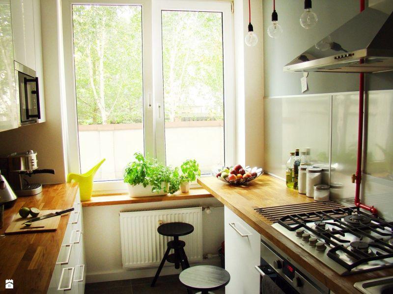 Вузька кухня: світильники