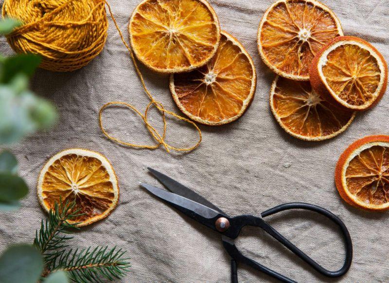 Цитрусовий декор: апельсинова гірлянда власноруч