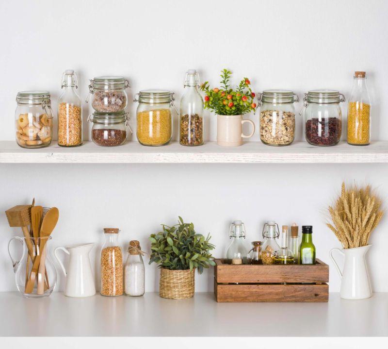 Скляний екологічний посуд для зберігання