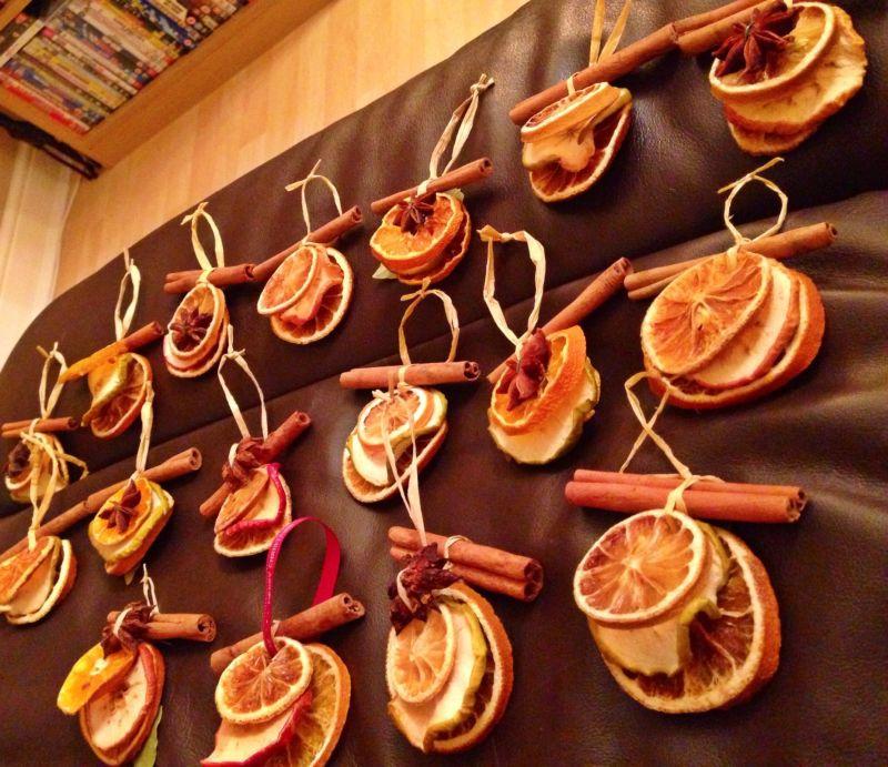Цитрусовий декор: варіант з прянощами