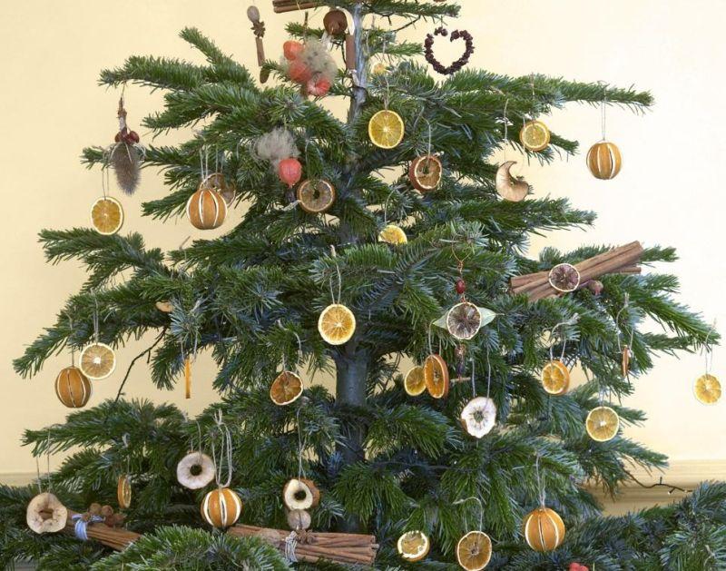 Цитрусовий декор: новорічне оздоблення ялинки в екологічному стилі