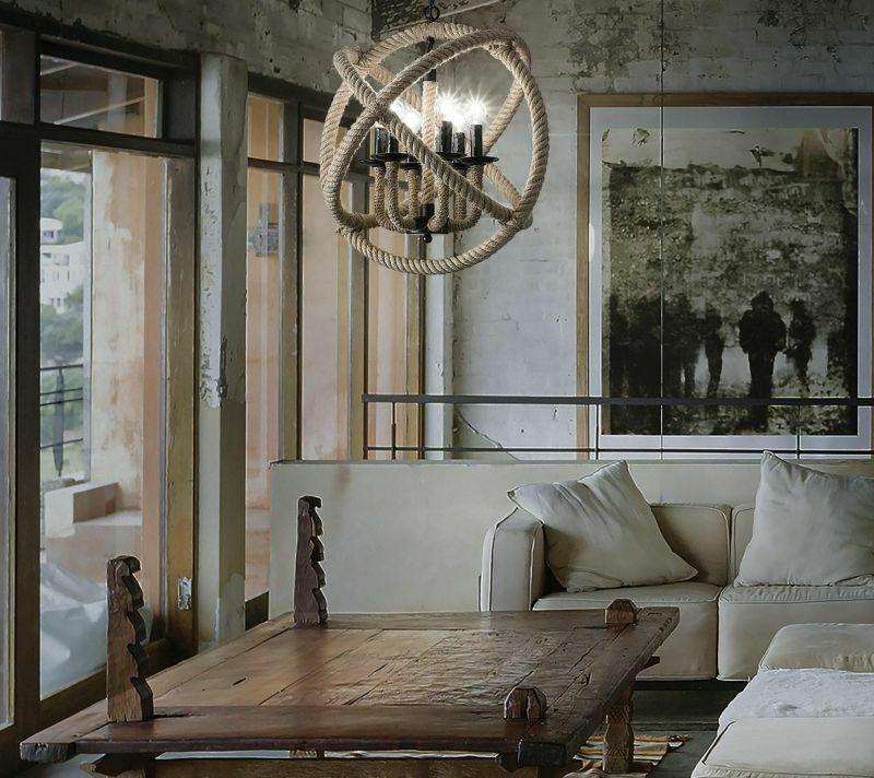 Декорування стін: гармонійне поєднання великого зображення з елементами стилю лофт