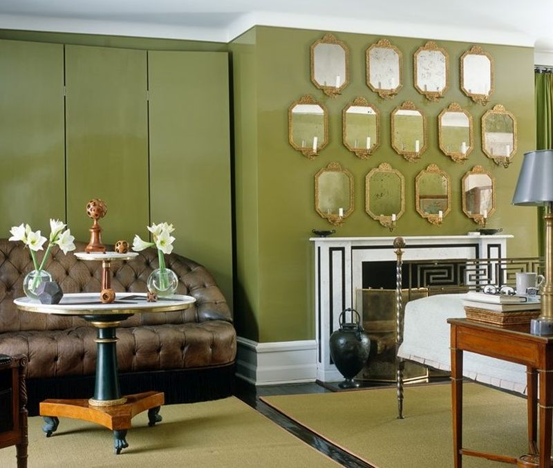 Декор стін групою дзеркал: розплановано та розраховано кожен сантиметр
