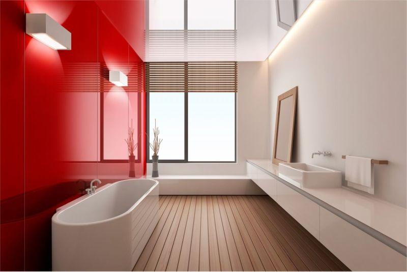 Стіни зі скла в інтер'єрі ванної кімнати