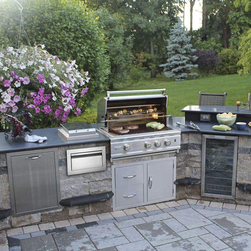 Обладнання для літньої кухні з неіржавіючої сталі