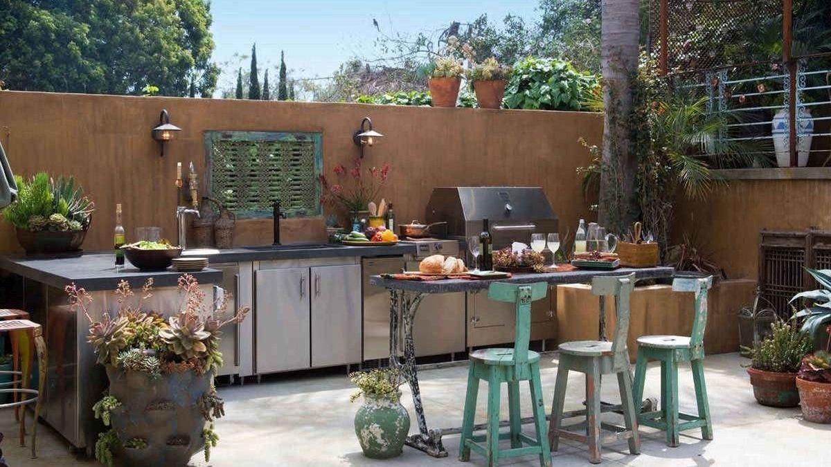Літня кухня: сучасні варіанти на будь-який смак