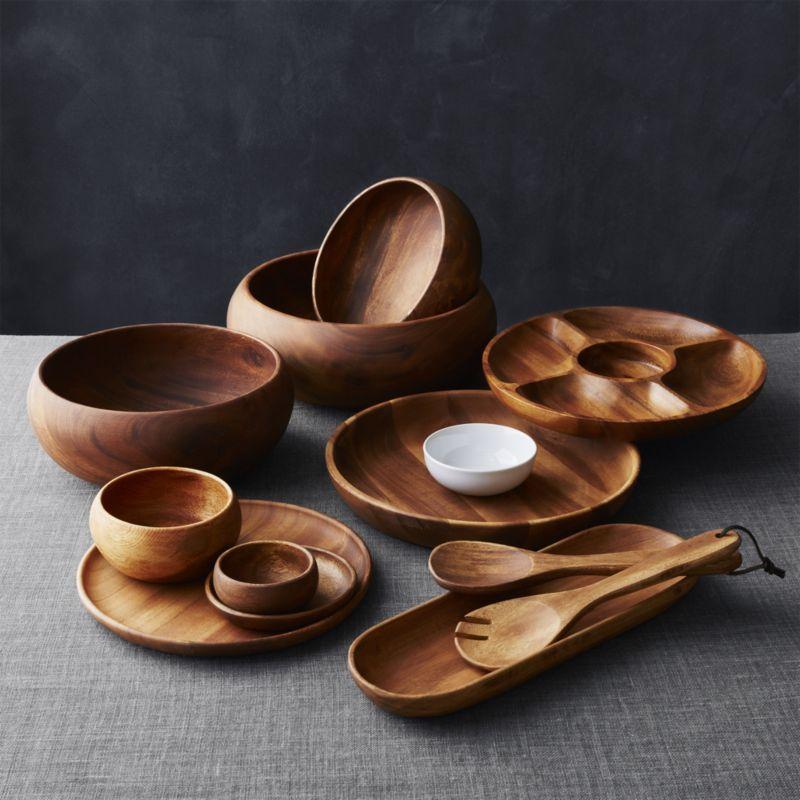 Дерев'яний посуд і догляд за ним
