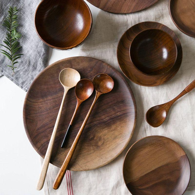 Екологічний посуд з деревини