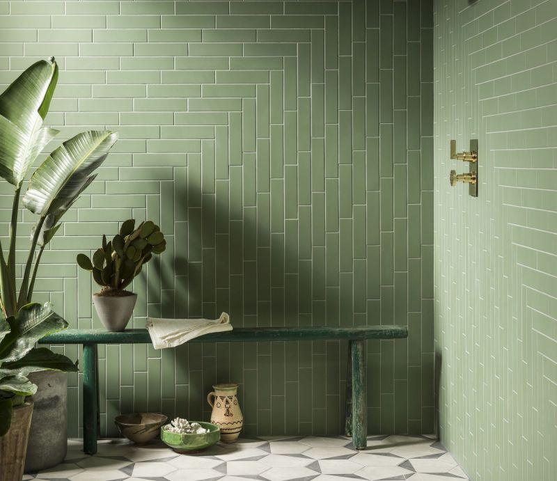 Плитка в оздобленні стін та підлоги ванної кімнати