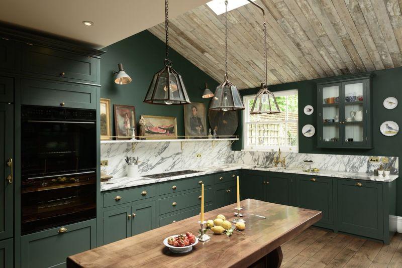 Старі тренди: зелений колір на кухні поза модою