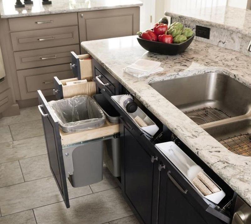Порядок на кухні - це вчасно прибирати сміття
