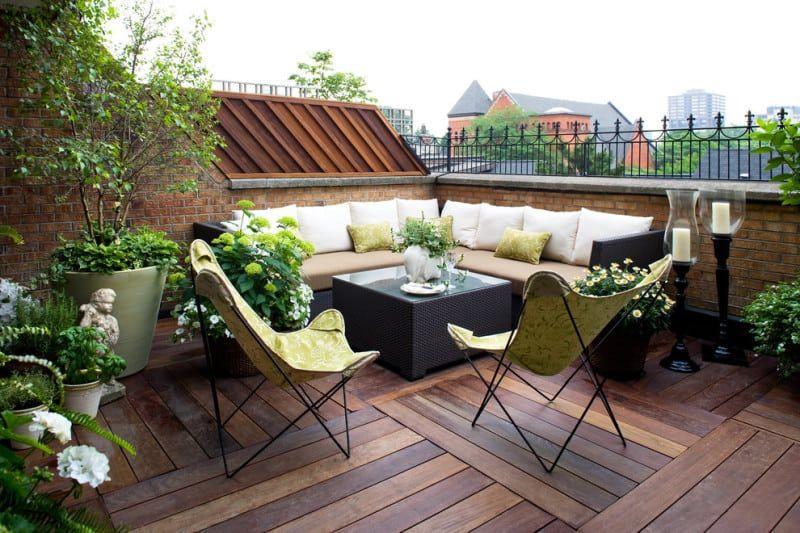 Облаштування балкона: літній варіант зони відпочинку