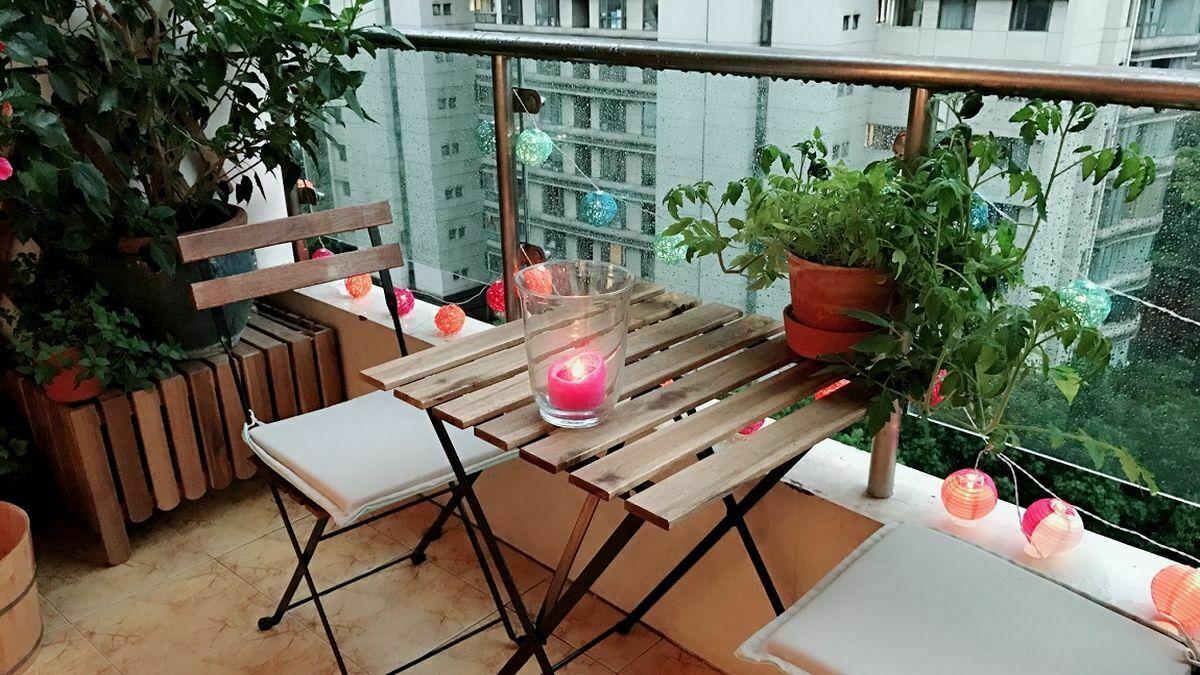 Облаштування балкона влітку: що потрібно для відпочинку