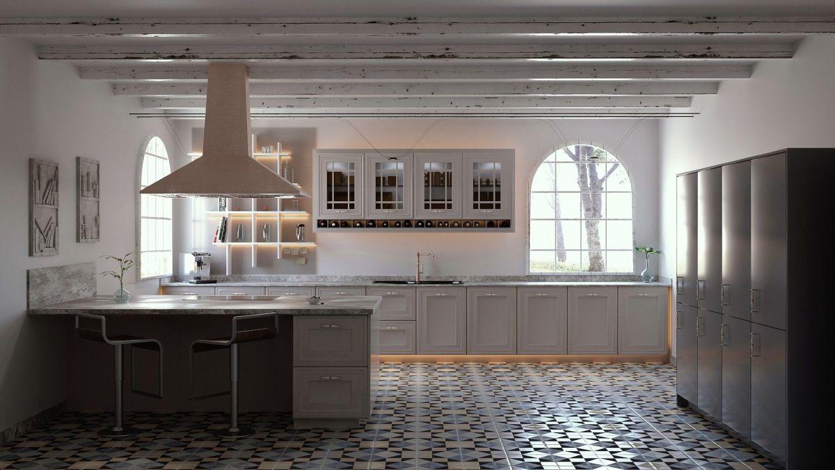 Підлога на кухні: 6 практичних матеріалів